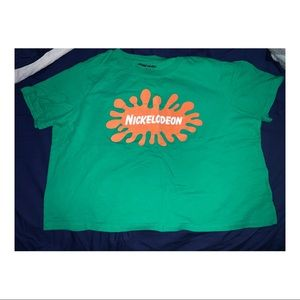 Nickelodeon crop top